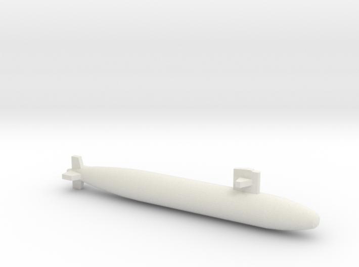 Sturgeon-class SSN (Short Hull), full hull, 1/1800 3d printed