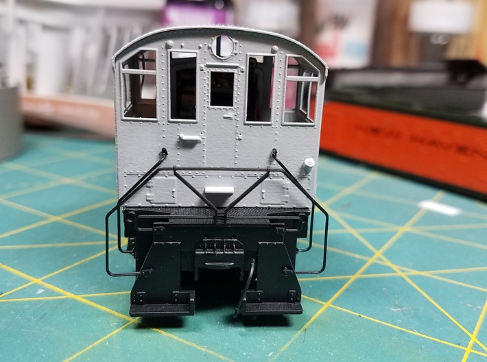 Alco NH low profile cab kit Atlas S2 3d printed