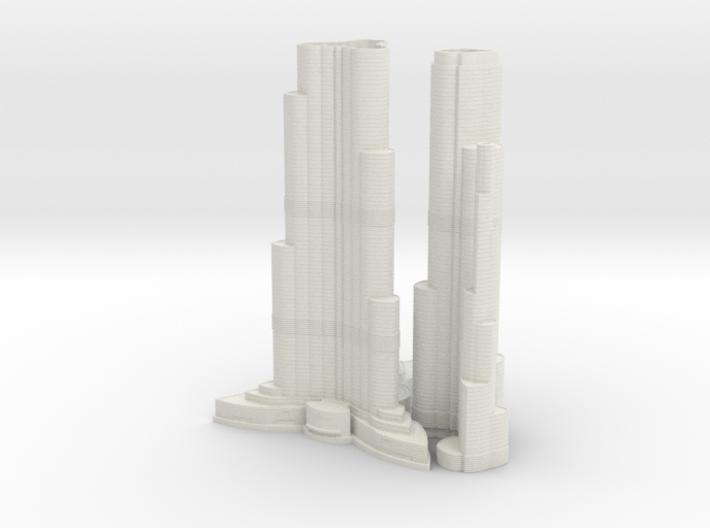 Burj Khalifa (1:2000) 3d printed