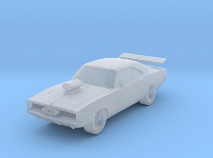 Dodge Charger Scale TT 3d printed