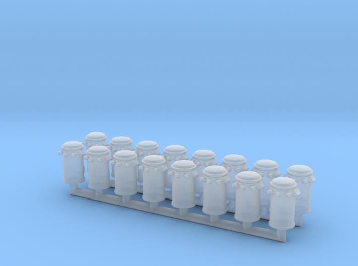 Pole Transformer 03. HO Scale (1:87) 3d printed