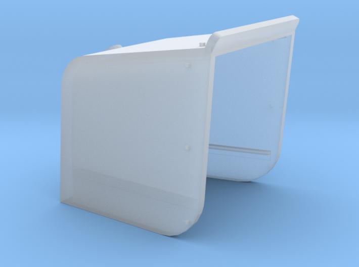 144_Curved_4_Inch_Gun_Shield 3d printed