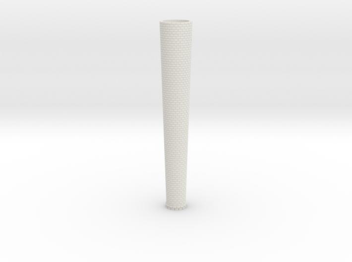 Brick Industrial Stack Round N Scale 3d printed