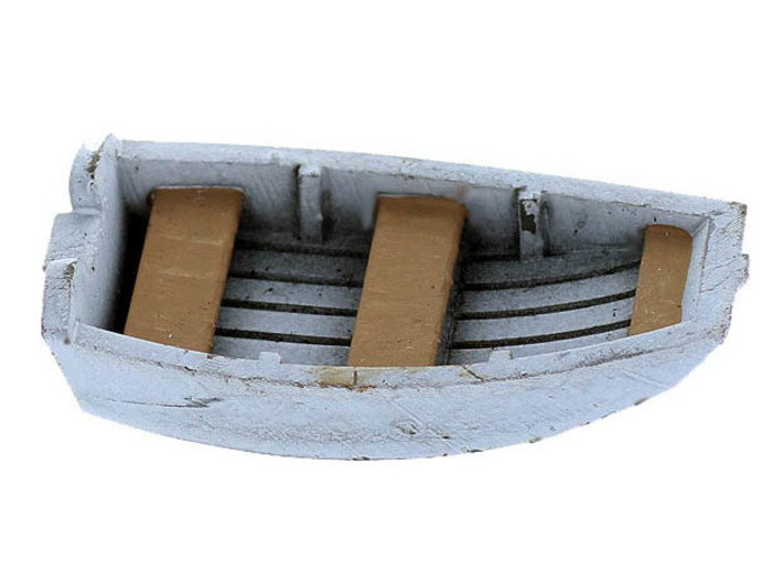 Dinghy Boat O Scale Classic 3d printed Dinghy Boat O Scale