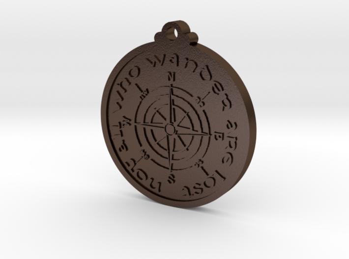 Wanderer Compass 3d printed