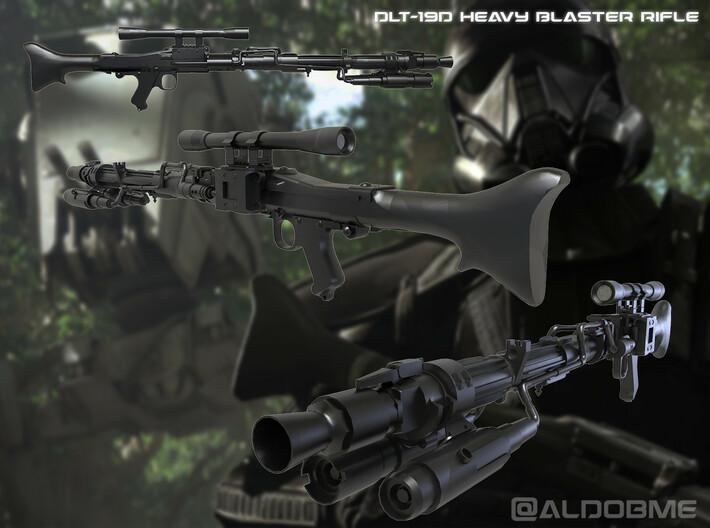 DLT-19D Heavy Blaster Rifle 3d printed