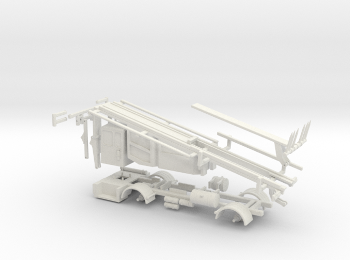 1/64 Stinger Truck Frame and Body 3d printed
