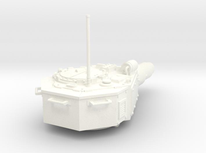 28mm Invader tank turret 3d printed