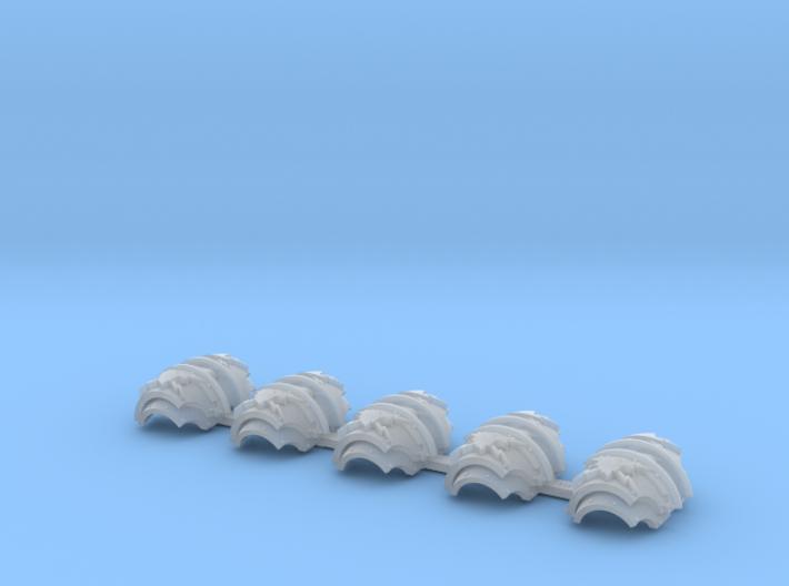 5x Thunder Eagles = Cataphractii Shoulder Sets 3d printed