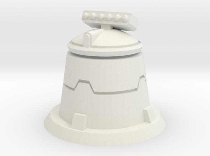 XM01 Sci Fi Missile turret 3d printed