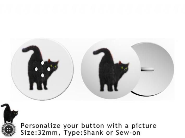 Picture Button 3d printed