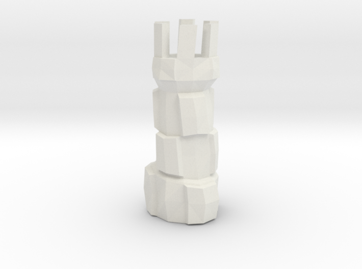 chess rook 3d printed