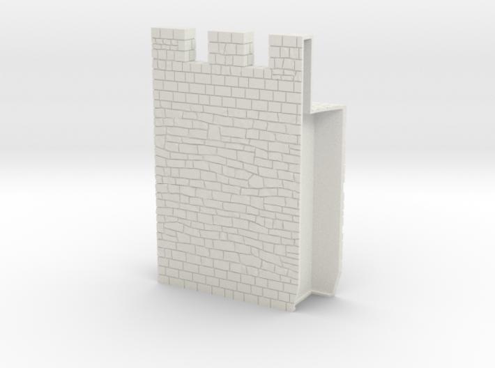 HOF036  - Castle wall 6 3d printed