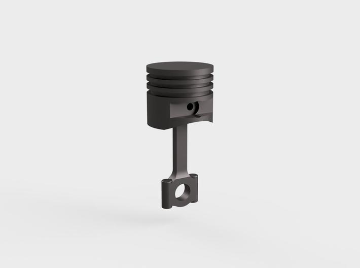 Piston#1(Flat Top)(Rod2)(Solid)(10/15/25mm) 3d printed