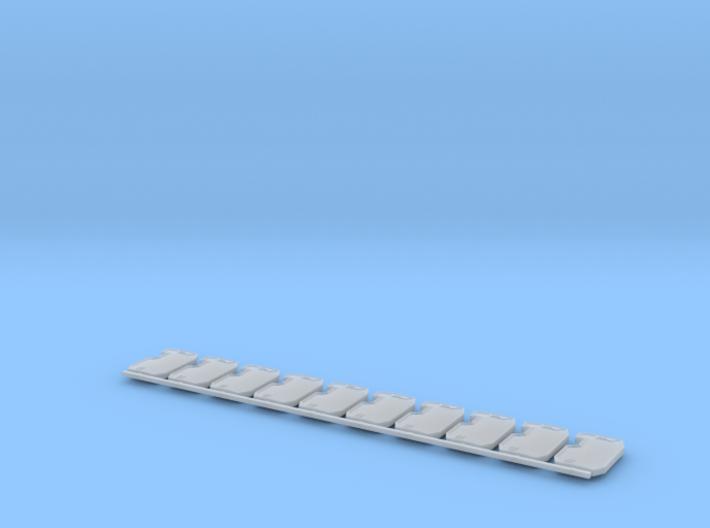 Boarding Shield V1 X10 3d printed