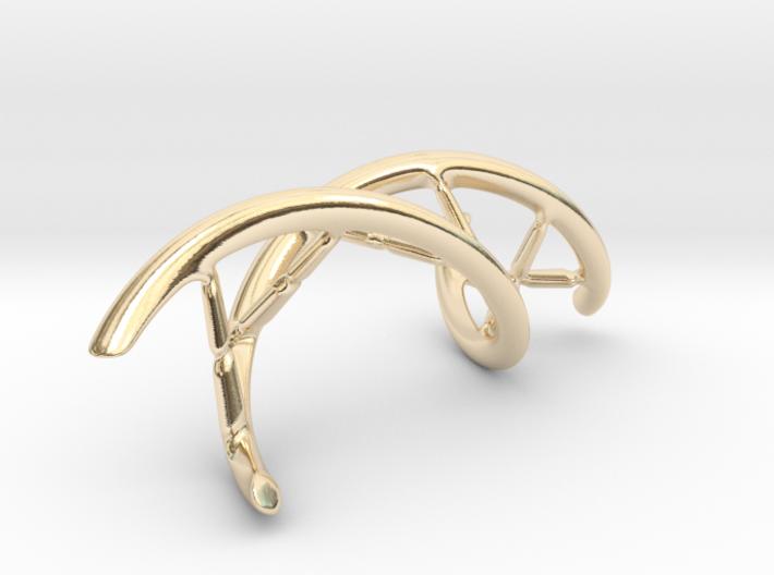 DNA Pendant, 4cm lengh 3d printed