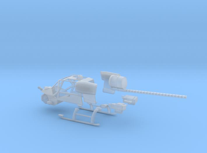 1/72 Blue Thunder Conversion Kit 3d printed