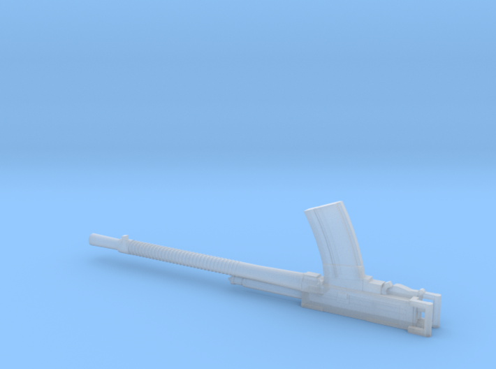 1/35 Breda 13.2mm Machine gun 3d printed