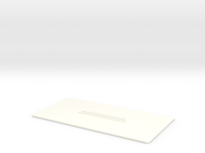 Lancia Delta Document holder 3d printed
