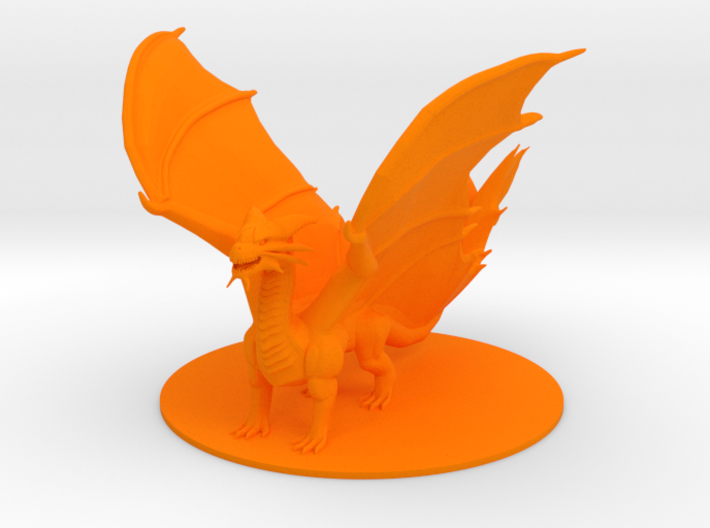 Ancient Copper Dragon 3d printed