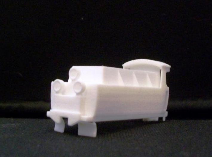 px48:003, tender with lamps HOe scale 3d printed PX48 003 tender print