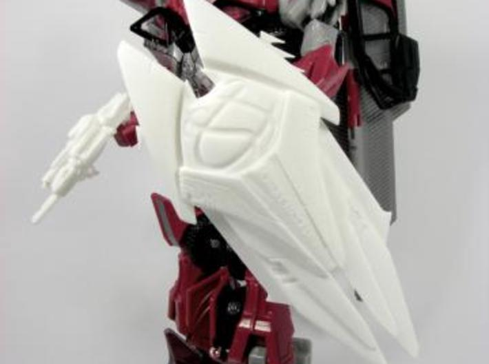 DOTM voyager Sentinel Prime weapon set 3d printed blaster and shield