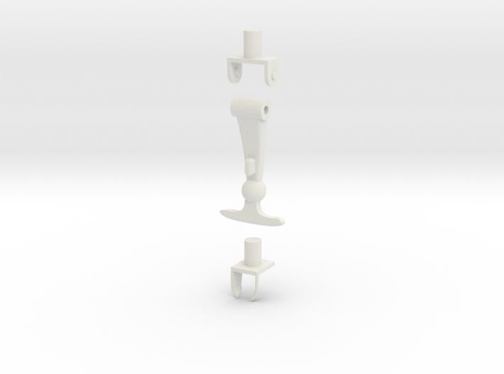 1/10 Scale Latch Set 3d printed