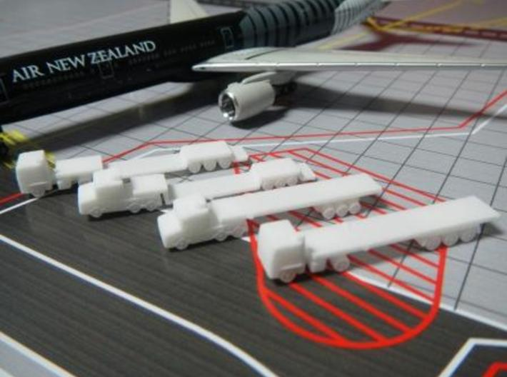 Airport GSE 1:400 Set 9 : Trailer Flat Truck 3d printed