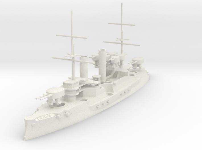 Borodino-Class Battleship 3d printed