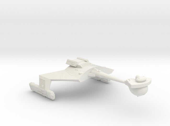 3788 Scale Romulan KRC Command Cruiser (Smooth) WE 3d printed