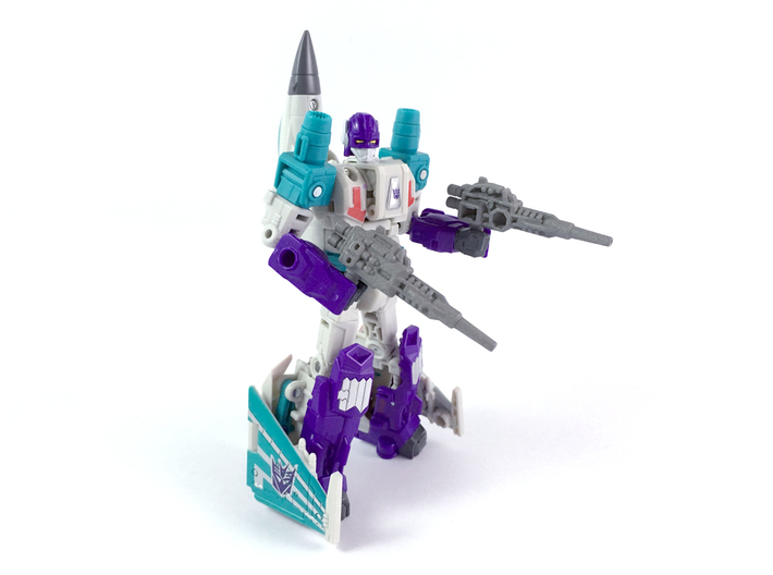 POTP Dreadwind Blasters 3d printed Painted model shown