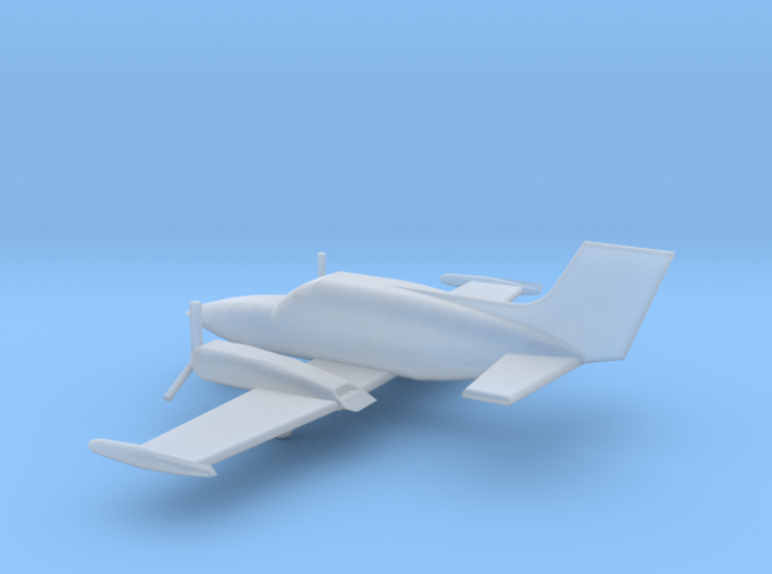 1/200 Scale Cessna 421 3d printed