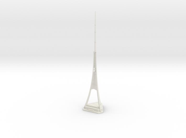 Riga Radio & TV Tower (1:2000) 3d printed