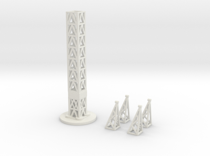 Power Line - Tower Kit 3d printed