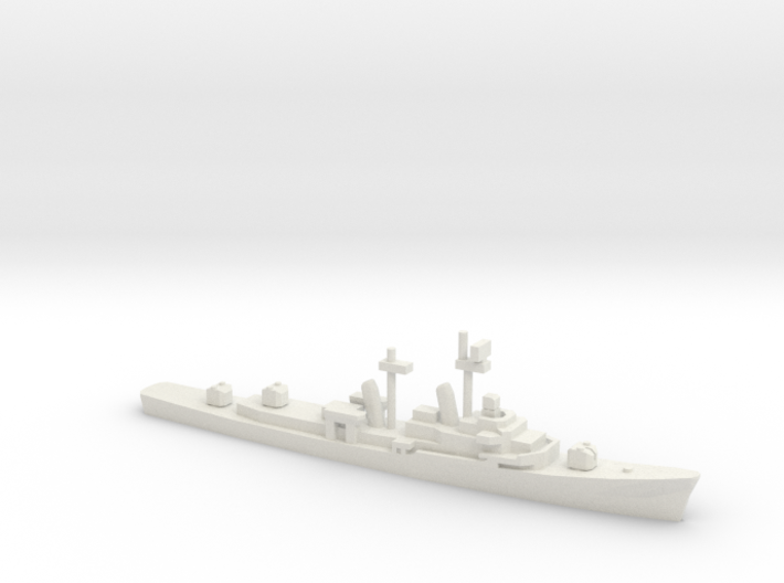 USS Turner Joy (DD-951), 1/1800 3d printed