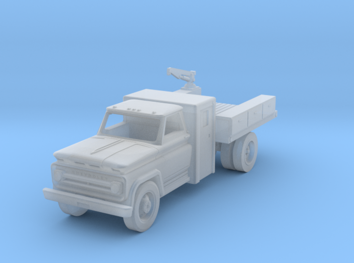 N scale RR Maintenance-of-Way Truck, WOT#97504 3d printed