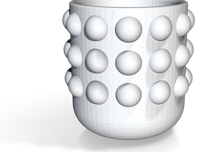 SmoothMug with Dots 3d printed