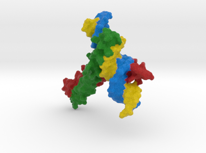 CREB Bound to DNA 3d printed