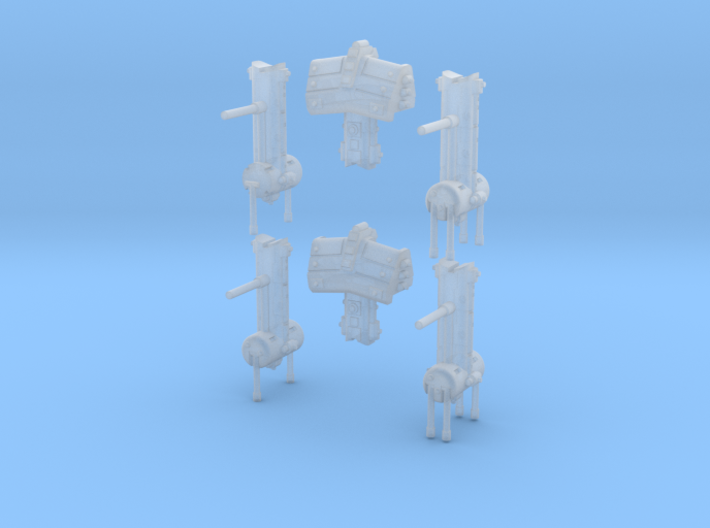 Orbital Military Modules (6) 3d printed