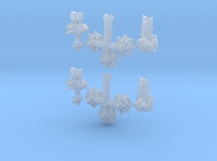 Orbital Civillian Modules (6) 3d printed