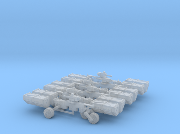 6mm Armed Wheeled Transport (8) 3d printed