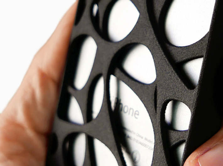 iPhone SE/5S Case_Voronoi 3d printed