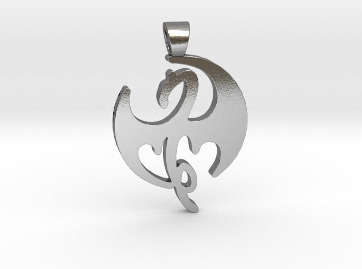 Iron Fist [pendant] 3d printed