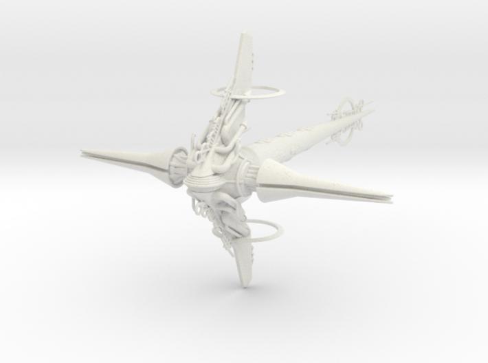 Last Exile. Guild Battleship 1:6000 3d printed