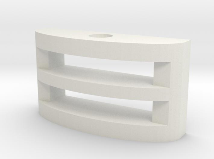 Narrow Gauge Pin coupling socket 3d printed