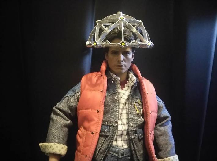 Hot Toys Doc Brown Mind Reader Back to the Future  3d printed