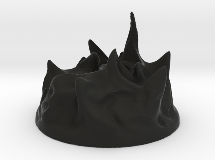 Black Pudding 3d printed