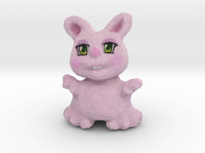 Bunny Girl Figurine 3d printed