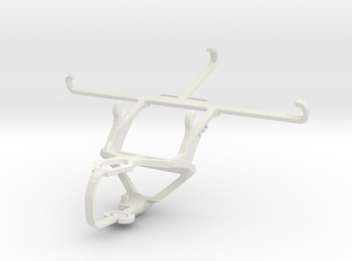 Controller mount for PS3 & QMobile Noir Z14 3d printed