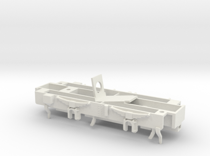 TS01 Diesel Shunter 0-4-0 Chassis 3d printed